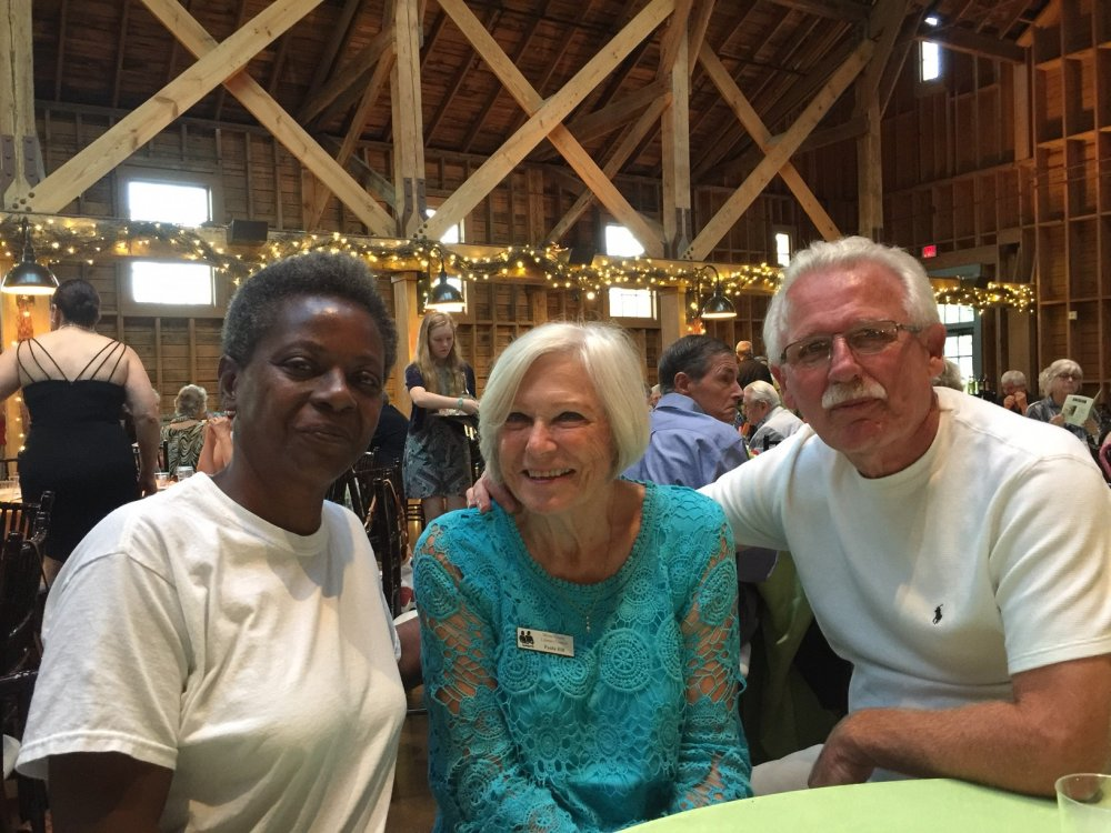 Carol, Paula and Tom